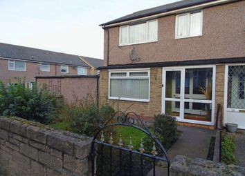 Thumbnail 3 bed semi-detached house for sale in Eastgarth Avenue, Amble, Morpeth