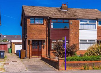 Thumbnail 3 bed semi-detached house to rent in Hertford Drive, Tyldesley, Manchester
