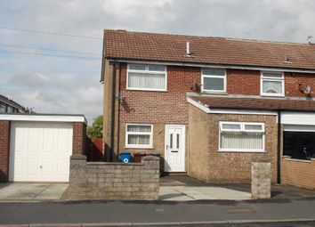 Thumbnail 3 bed end terrace house to rent in Hall Lane, Simonswood, Liverpool