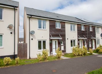 Thumbnail 3 bed end terrace house for sale in Fleetwood Gardens, Plymouth