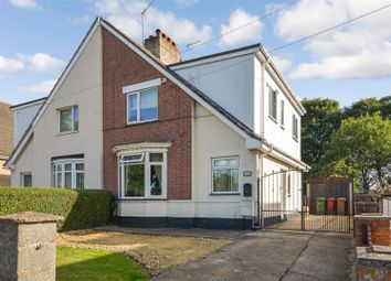 Thumbnail 3 bed semi-detached house for sale in Burringham Road, Scunthorpe
