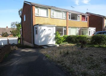 Thumbnail 3 bed semi-detached house for sale in Greatwood Close, Hythe, Southampton