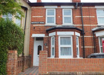 Thumbnail 4 bed terraced house to rent in Waverley Road, Reading
