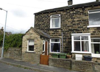 Thumbnail 1 bedroom end terrace house for sale in Top Road, Lower Cumberworth, Huddersfield