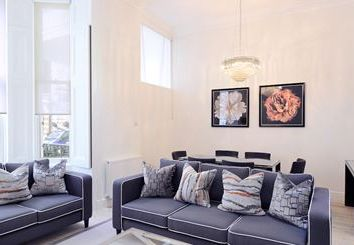 Thumbnail 4 bed duplex to rent in Lexham Gardens, Kensington, London