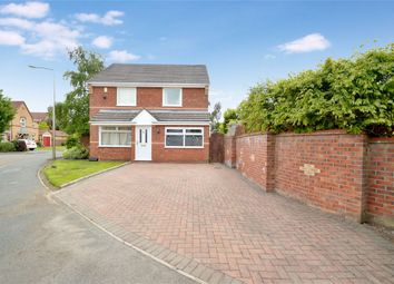 Thumbnail 3 bed detached house for sale in Sandpiper Drive, Stockport, Cheshire