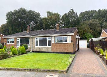 Thumbnail Semi-detached bungalow for sale in Stradbroke Drive, Blurton, Stoke-On-Trent, Staffordshire