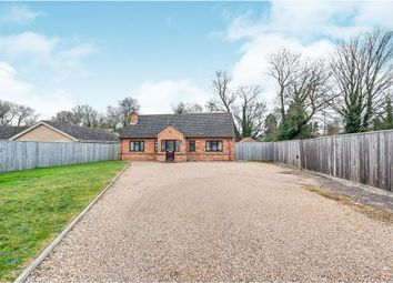 Thumbnail 3 bed detached bungalow for sale in New Bridge Road, Upwell, Wisbech