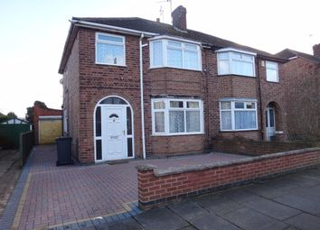Thumbnail 3 bed semi-detached house for sale in Ferndale Road, West Knighton, Leicester
