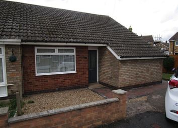 Thumbnail 2 bed bungalow to rent in Keswick Close, Birstall, Leicestershire