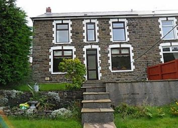Thumbnail 3 bed semi-detached house to rent in Craig-Fryn Terrace, Nantymoel, Bridgend