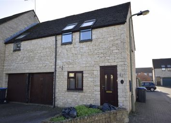 Thumbnail 2 bed end terrace house to rent in Campden Close, Witney, Oxfordshire