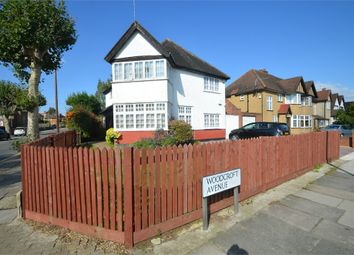 Thumbnail 4 bed detached house for sale in Woodcroft Avenue, London