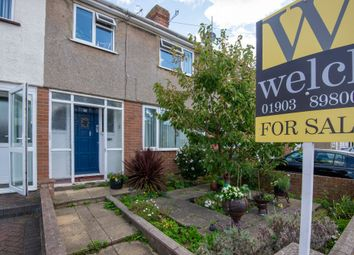 Thumbnail 3 bed terraced house for sale in Southdownview Road, Broadwater, Worthing