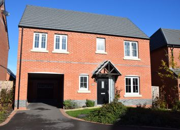 Thumbnail 4 bed detached house for sale in Ash Tree Road, Ashby De La Zouch