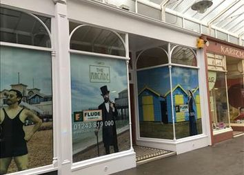 Thumbnail Retail premises to let in Unit 4 The Arcade, High Street, Bognor Regis, West Sussex