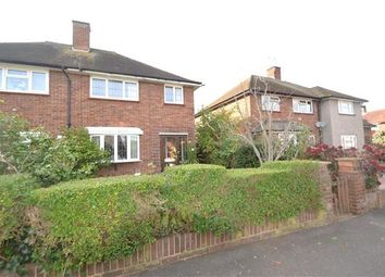 Thumbnail 2 bed semi-detached house for sale in Grovestile Waye, Bedfont, Feltham