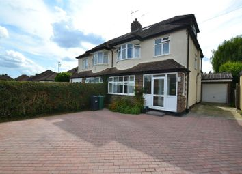 Thumbnail 4 bed semi-detached house to rent in Fairfield Avenue, Horley