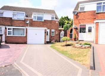 Thumbnail 3 bedroom semi-detached house for sale in Kingham Close, Lower Gornal