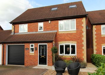Thumbnail 5 bedroom link-detached house for sale in Church Road, Winterbourne Down, Bristol