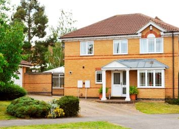 Thumbnail 4 bed detached house to rent in Trefoil Drive, Killinghall, Harrogate
