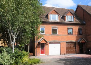 Thumbnail 3 bed town house for sale in Longacre Road, Ashford