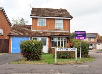 Thumbnail 3 bed detached house for sale in Norfolk Close, Wokingham