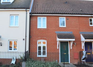 Thumbnail 3 bed terraced house for sale in Turing Court, Kesgrave