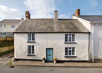 Thumbnail 3 bed end terrace house for sale in Crockernwell, Exeter