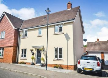 Thumbnail 3 bed semi-detached house for sale in Imperial Way, Ashford, Kent