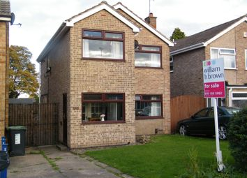 Thumbnail 3 bed detached house for sale in Wordsworth Road, Awsworth, Nottingham