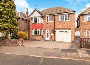Thumbnail 4 bed detached house for sale in Uppingham Road, Thurnby, Leicester, Leicestershire