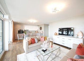 Thumbnail 1 bed flat for sale in Plot 149, Meridian Waterside, Radcliffe Road, Southampton