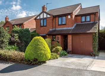 Thumbnail 4 bed detached house for sale in Sheriffs Close, Lichfield