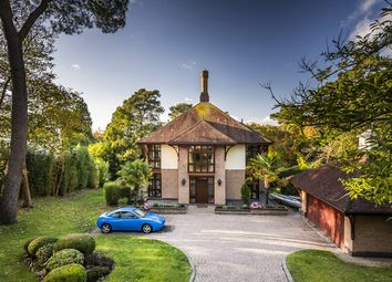 Thumbnail 5 bed detached house for sale in Crichel Mount Road, Canford Cliffs, Poole