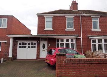 Thumbnail 3 bed semi-detached house for sale in Moorland Avenue, Bedlington