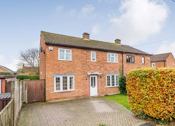 Thumbnail 4 bed semi-detached house for sale in Howard Road, Seer Green, Beaconsfield