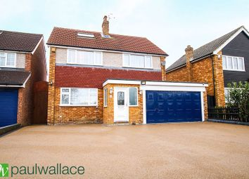 Thumbnail 4 bed detached house for sale in Colston Crescent, Goffs Oak, Waltham Cross