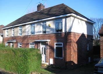 Thumbnail 3 bed semi-detached house to rent in Shirehall Crescent, Shiregreen, Sheffield