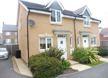 Thumbnail 2 bed semi-detached house for sale in Caithness Close, Orton Northgate, Peterborough