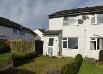 Thumbnail 2 bedroom semi-detached house for sale in St. Boniface Close, Plymouth