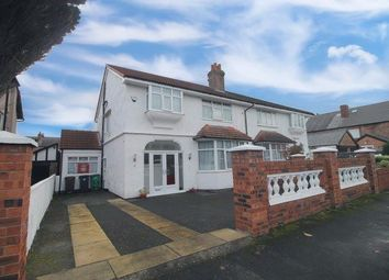 Thumbnail 4 bed semi-detached house for sale in Ince Avenue, Crosby, Liverpool