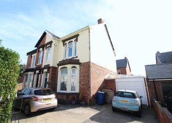 Thumbnail 4 bed semi-detached house for sale in Kent Villas, Jarrow