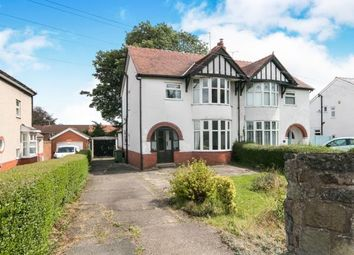 Thumbnail 3 bed semi-detached house for sale in Chester Road, Wrexham