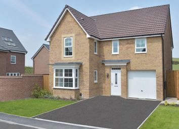 "Thumbnail 4 bed detached house for sale in ""Halstead"" at Carters Lane, Kiln Farm, Milton Keynes"