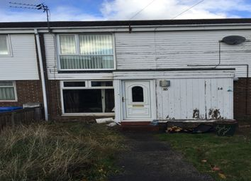 Thumbnail 2 bed flat for sale in Holystone Avenue, Blyth