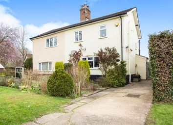 Thumbnail 2 bedroom semi-detached house for sale in Vicarage Road, Foulden, Thetford