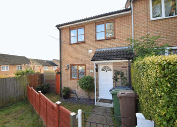 Thumbnail 3 bed end terrace house to rent in Luxembourg Close, Luton