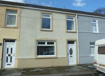 Thumbnail 3 bed terraced house for sale in Coegnant Road, Nantyffyllon, Maesteg, Mid Glamorgan