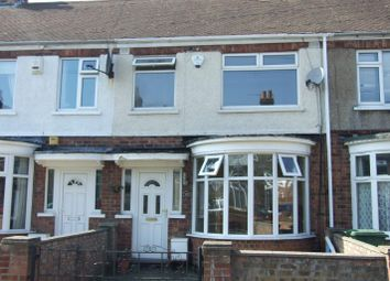 Thumbnail 3 bed terraced house to rent in Corinthian Avenue, Grimsby